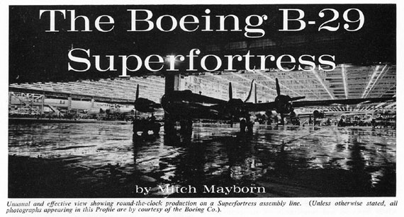 Profile Publications No. 101: Boeing B-29 Superfortress - page scan thumbnails