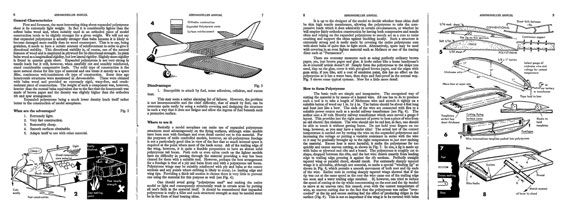 AeroModeller Annual 1963-64 - page scan thumbnails