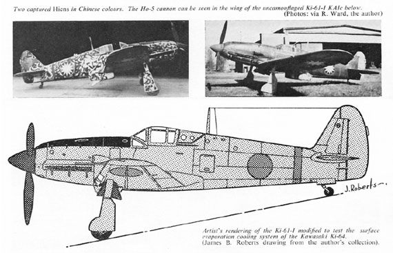 Profile Publications No. 118: Kawasaki Ki-61 Hien - page scan thumbnails
