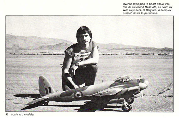 Scale R/C Modeler 1982/12 December - page scan thumbnails