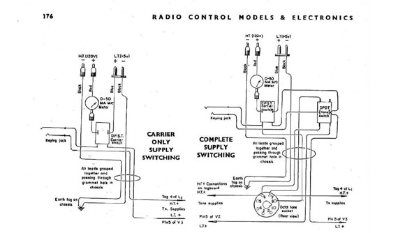 Radio Control Models & Electronics 1960/08 August - page scan thumbnails