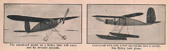 Model Airplane News 1933/09 September - page scan thumbnails