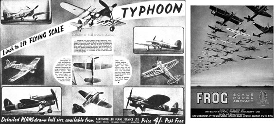 AeroModeller 1943/08 August - page scan thumbnails