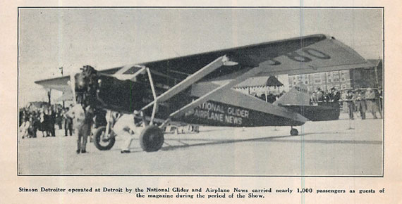 National Glider & Airplane News 1931/06 June - page scan thumbnails